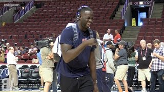 Funniest Moments from Team USA Practice In Chicago | USA Basketball Practice Uncensored