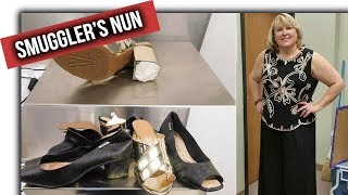 American Nun arrested for smuggling cocaine in high heel shoe