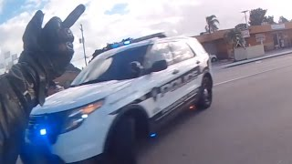 Motorcycle Police Chases Compilation #13 - January 2017 - FNF