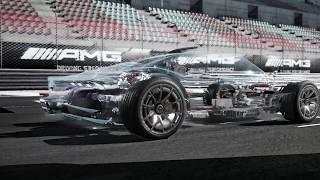Mercedes hybrid hypercar Project one - animation