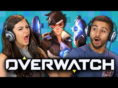 OVERWATCH Teens React Gaming