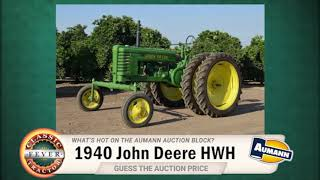 What is a John Deere HWH and what is it worth?