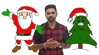 How to Draw Santa Claus & How to Draw a Christmas tree | Step by Step for kids | Christmas drawings