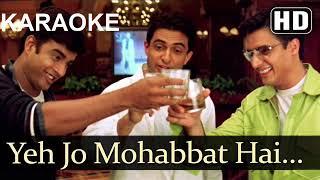 Yeh Jo Mohabbat Hai (Dil Vil Pyar Vyar) KARAOKE