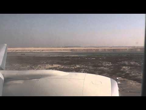 Etihad Boeing 777 300ER Takeoff Abu Dhabi Airport