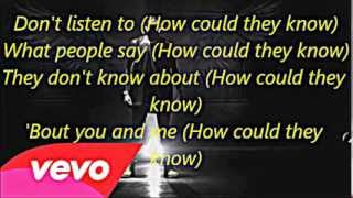 Chris Brown ft Aaliyah-Don't think they know Lyrics