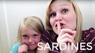SARDINES IN OUR HOUSE!! | HIDE AND SEEK!