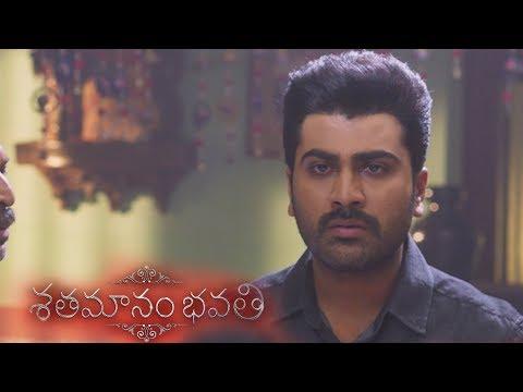 Download Emotional scene between Sharwanand, Prakashraj and Jayasudha -  Shathamanam Bhavathi free