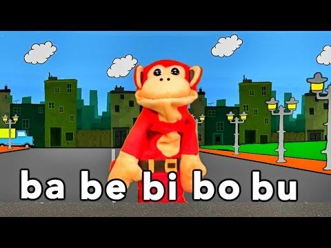 Xxx Mp4 Sílabas Ba Be Bi Bo Bu El Mono Sílabo Videos Infantiles Educación Para Niños 3gp Sex