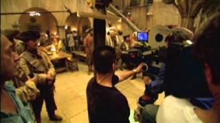 Pirates of the Caribbean: Dead Man's Chest: Behind The Scenes Production Broll Part 1 of 3