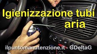 Come igienizzare impianto climatizzazione auto