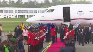 Tazama Rais Kagame alivyotua Tanzania (14/01/2018)