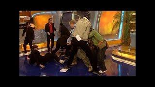 Prügelei im TV total Studio! - TV total classic