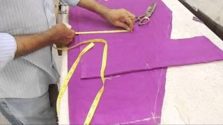 How To Cut Normal Salwar-Basic Cutting For Pajami/Salwar Suit/Salwar Cutting Method
