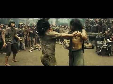 Ong Bak 2 Slave Fight Scene HUN DUB HD