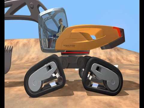 Volvo SphinX grävmaskin koncept maskin engelska