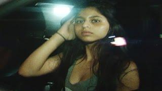 Suhana Khan spotted at Karan Johar's house | VIDEO