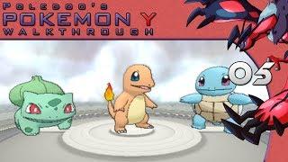 Pokemon: Y Walkthrough EP05 -