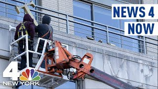 News 4 Now: President Trump's Name Removed from NYC Building, Mega Millions Jackpot Grows