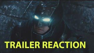 Batman v Superman: Dawn of Justice Trailer Best Reaction