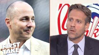 """Yankees GM Brian Cashman """"isn"""