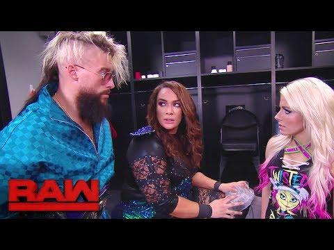 Xxx Mp4 Enzo Amore Checks On Nia Jax Raw Jan 15 2018 3gp Sex