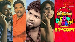 Fun Bucket | 51st Copy | Funny Videos | by Harsha Annavarapu | #TeluguComedyWebSeries