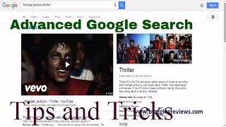Advanced Google Search Tricks and Tips Tutorial