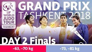 Judo Grand-Prix Tashkent 2018: Day 2 - Final Block