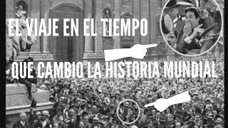 EL VIAJE EN EL TIEMPO DE 1936 QUE CAMBIO LA HISTORIA Y ESTE MISTERIOSO PERSONAJE