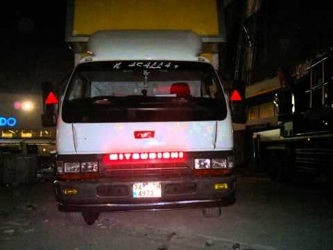 mıtsubıshı kamyon modifiye