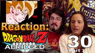 DragonBall Z Abridged: Ep.30 [Parts 1-3] (TFS): Reaction #AirierReacts