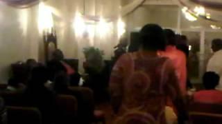 pastor kervy brown sings @ pilgrim cathedral