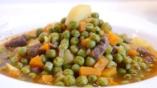 Bezelye Yemeği Tarifi | Etli Bezelye Yemeği Nasıl Yapılır