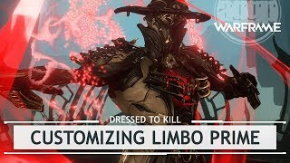 Warframe: Customizing Limbo Prime, Entering The TennoCon Rift [dressedtokill]