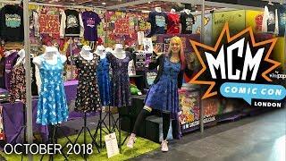 MCM London Comic Con October 2018 Vlog