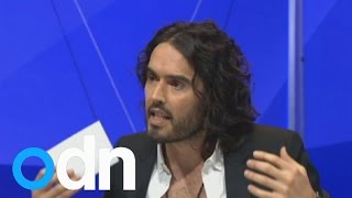 Russell Brand & Nigel Farage clash over immigration