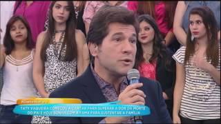 Taty Vaqueira quer ficar famosa para sustentar a família