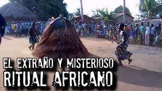 EL EXTRAÑO Y MISTERIOSO RITUAL AFRICANO   Zangbeto Video Real