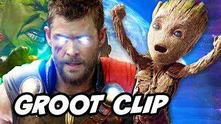 Avengers Infinity War Groot Scene vs Original Groot Explained by James Gunn