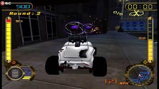 Hot Wheels Velocity X - Nintendo Gamecube Racer Games / Gameplay FHD #2