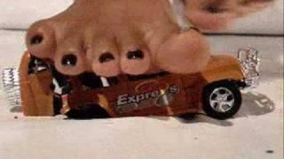 PAULA CRUSHING CARS 3