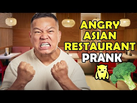 Angry Asian Restaurant Broccoli Prank - Ownage Pranks