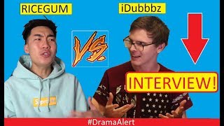 RiceGum (INTERVIEW) Challenging iDubbbz to BOX! #DramaAlert