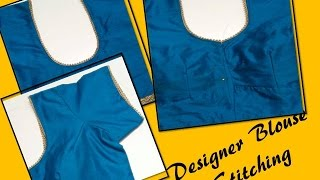 Blouse Stitching Simple and Easy Method (DIY)