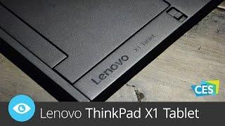 Lenovo Thinkpad X1 Tablet (CES 2016)
