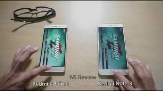 Xiaomi Redmi 4 prime vs Redmi Note 3 pro - Speed Test