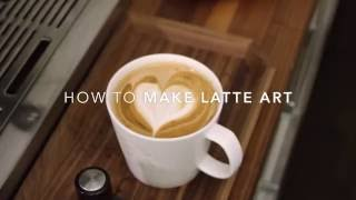 How to Make Latte Art at Home