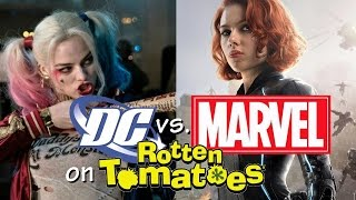 Marvel vs. DC on Rotten Tomatoes