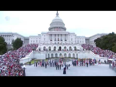 "Kyla Jade Performs ""The Star-Spangled Banner"" at the 2018 A Capitol Fourth"
